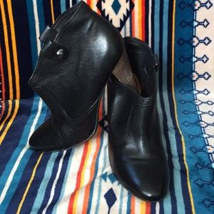 Coach Aliza Boot Black size 9B